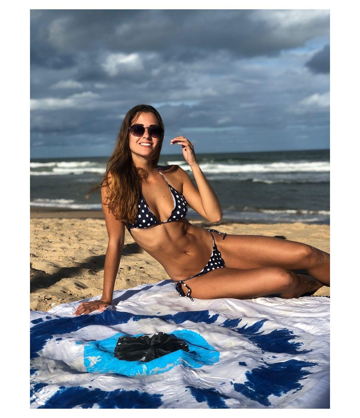 Top Biquíni Cortininha Ripple Honolua Beach