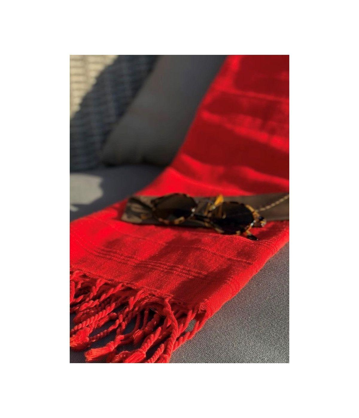 Toalha Premium Traditional - Vermelha
