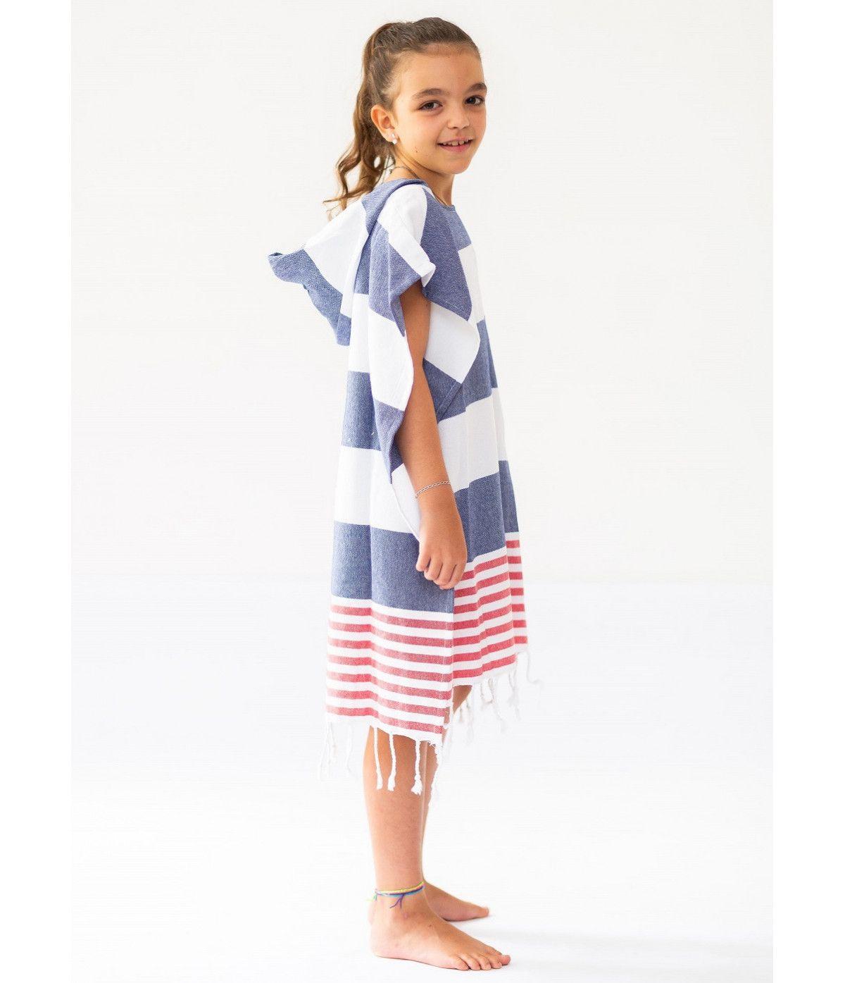 Poncho Infantil Belle Mare