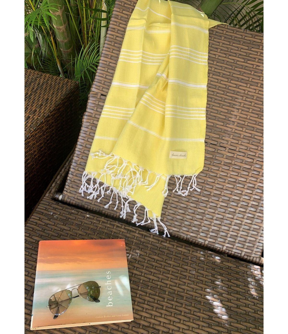 Toalha Premium Traditional  - Amarela